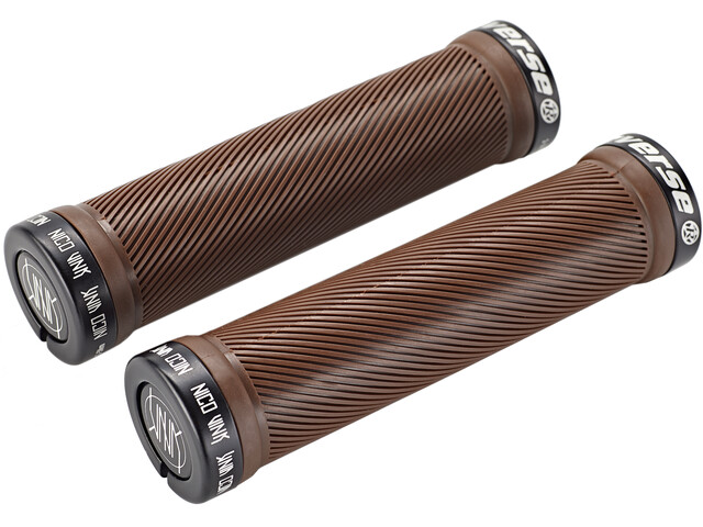 Reverse Nico Vink Signature Series Lock-On Grips Ø30x130mm borwn/black